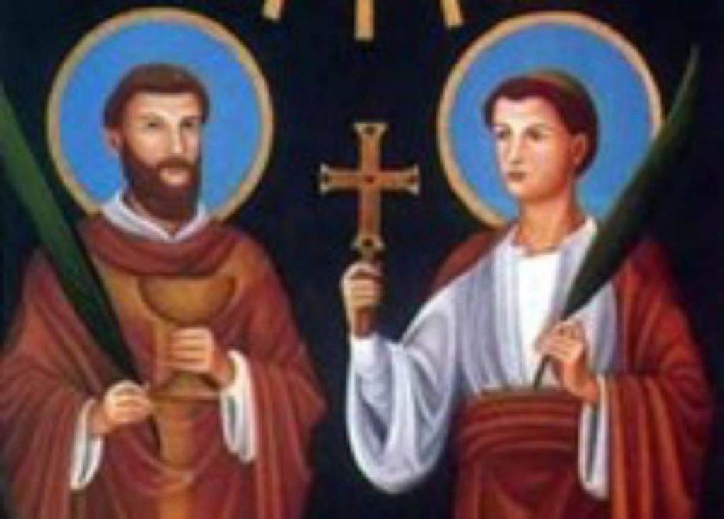Santi Marcellino e Pietro martiri