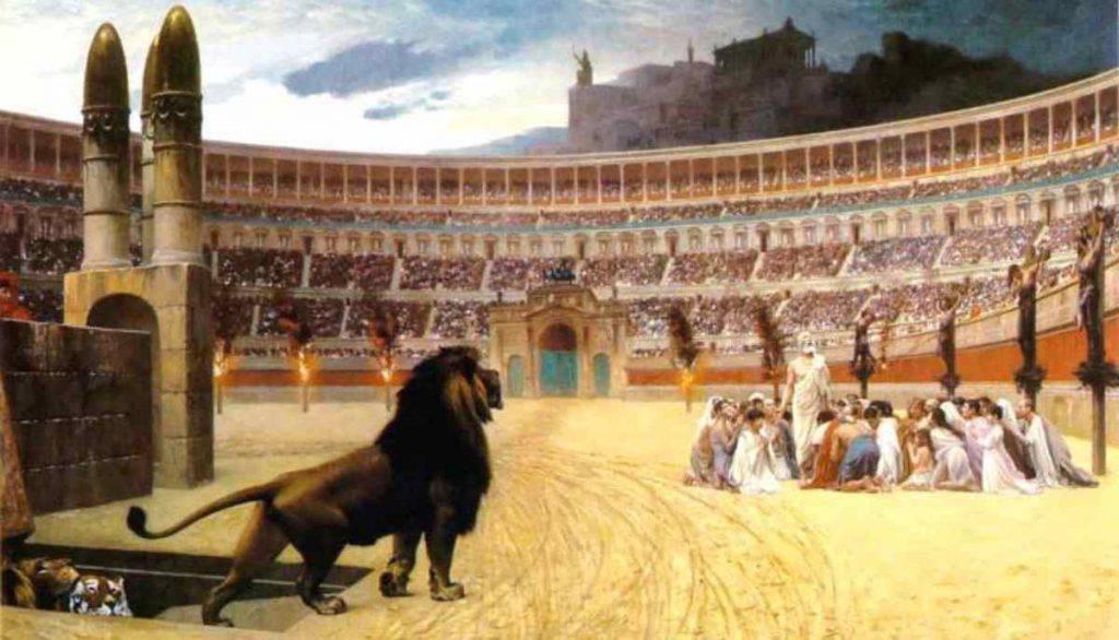 Santi primi martiri della Chiesa di Roma