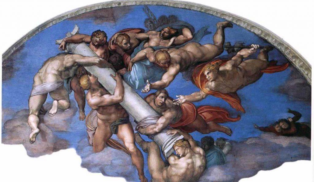 La spugna di Cristo - Cappella Sistina