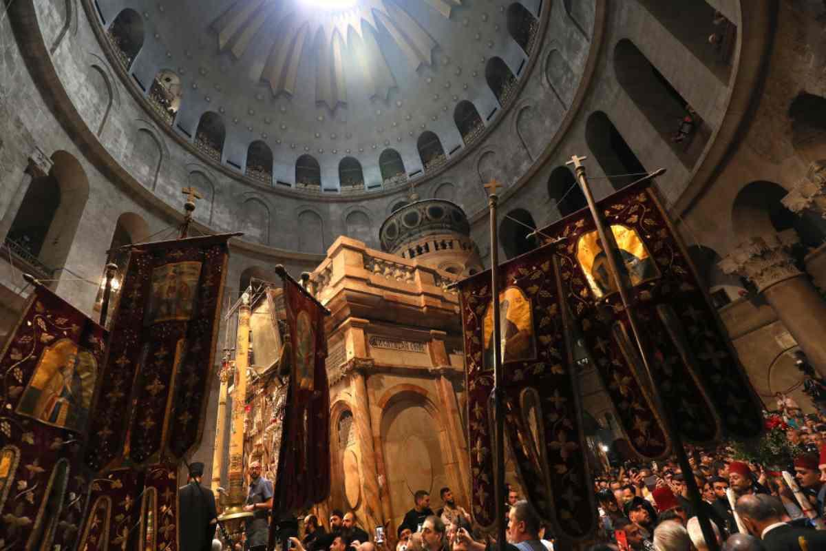 Celebrata la Dedicazione della Basilica del Santo Sepolcro