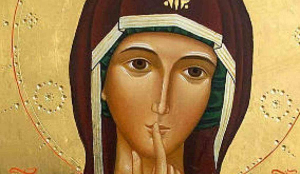 Maria Vergine del Silenzio icona