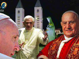 Medjugorje Giovanni XXIII Francesco Benedetto XVI