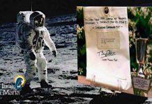 Moon Day Aldrin Eucarestia