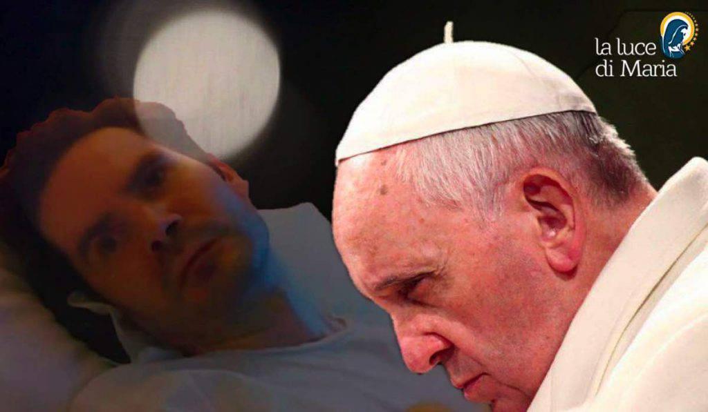 Morte Vincent Lambert papa Francesco prega