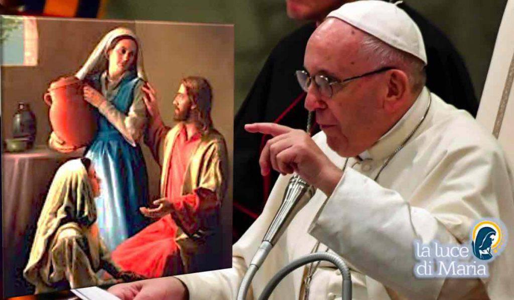 Papa Francesco seguire esempio Marta e Maria