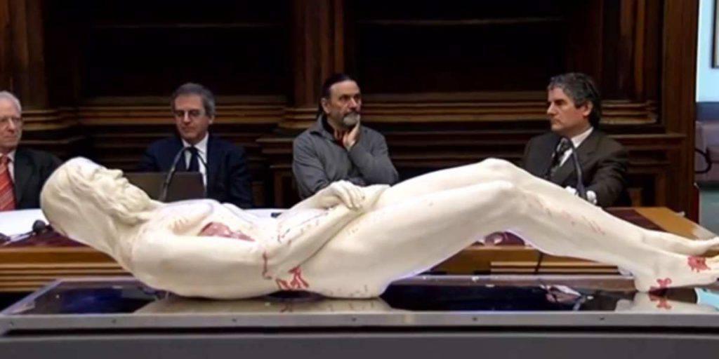 Sacra Sindone, il corpo ricostruito in 3D