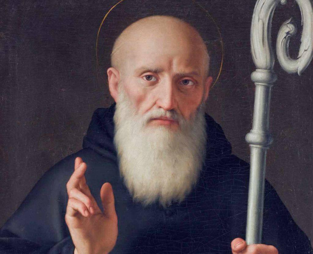 San Benedetto da Norcia monaco