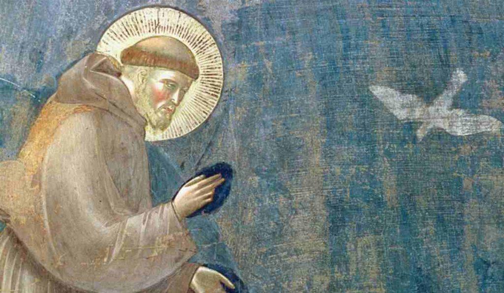 San Francesco d'Assisi preghiera