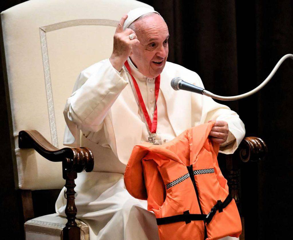 papa francesco domenica del mare