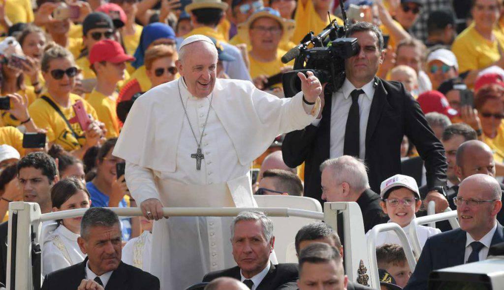 papa francesco udienza mercoledi