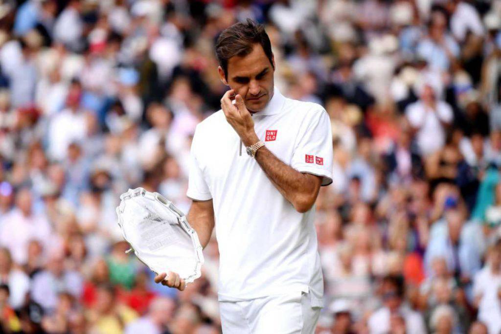 Il grande cuore di Re Roger Federer