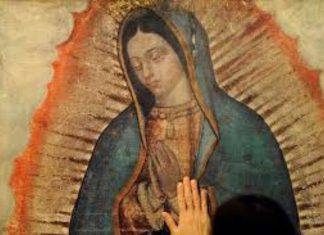 Madonna di Guadalupe manto