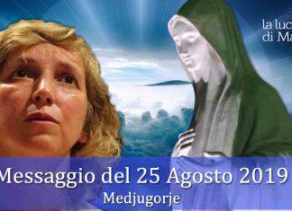 Medjugorje Messaggio 25 Agosto
