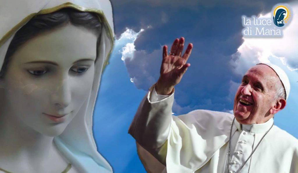 Papa Francesco Madonna