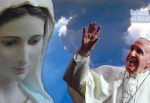 Papa Francesco Madonna Ave Maria