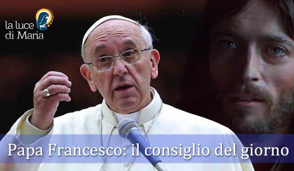 Papa Francesco consiglio oggi