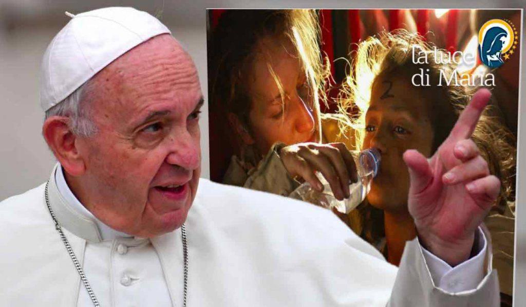 Papa Francesco operatrici umanitarie