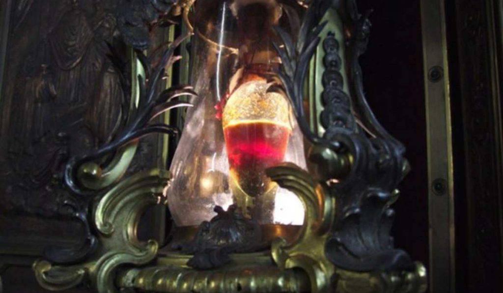 San Lorenzo, la miracolosa liquefazione del sangue