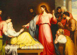 Vangelo Gesù guarisce suocera Simone
