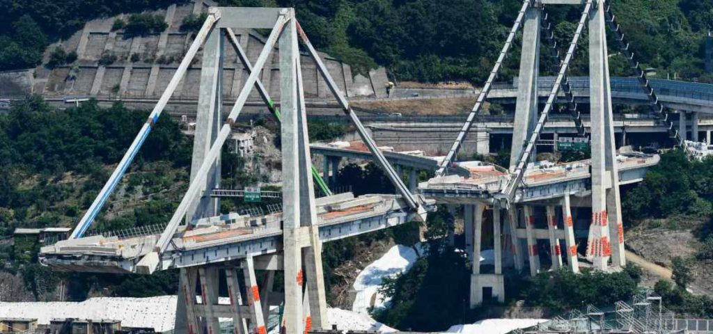 ponte genova anniversario crollo