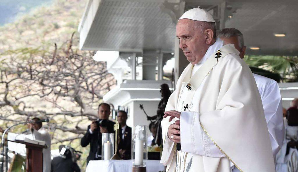 papa francesco mauritius