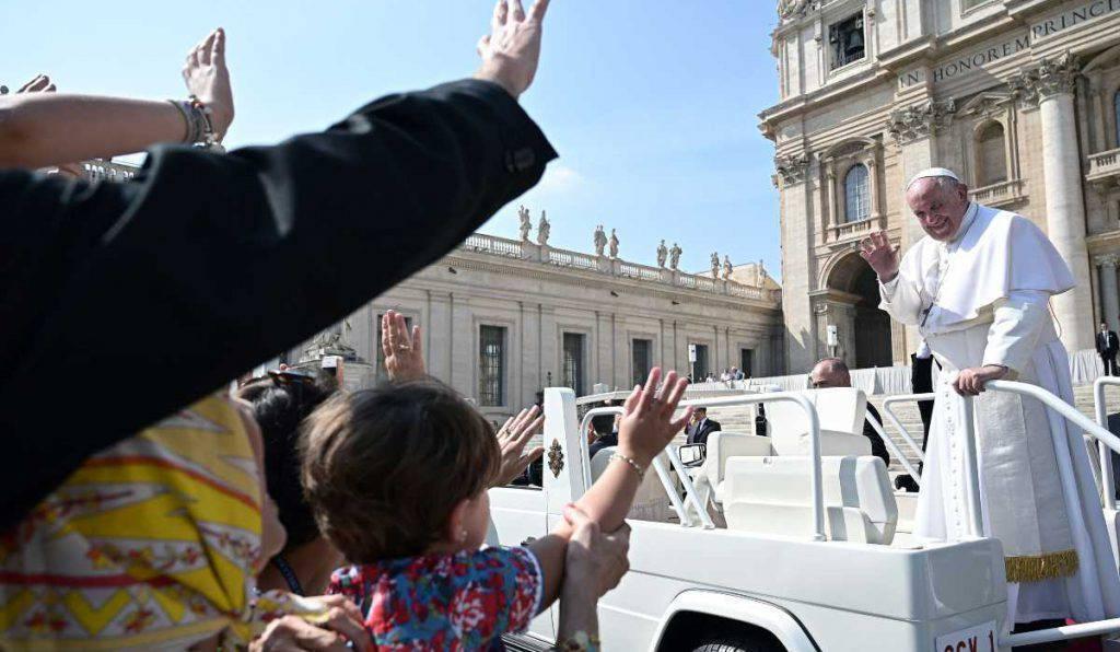 papa francesco udienza
