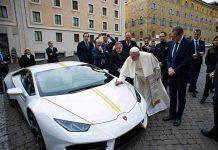 Papa Francesco Lamborghini