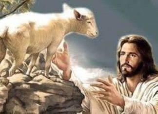 Gesu buon pastore