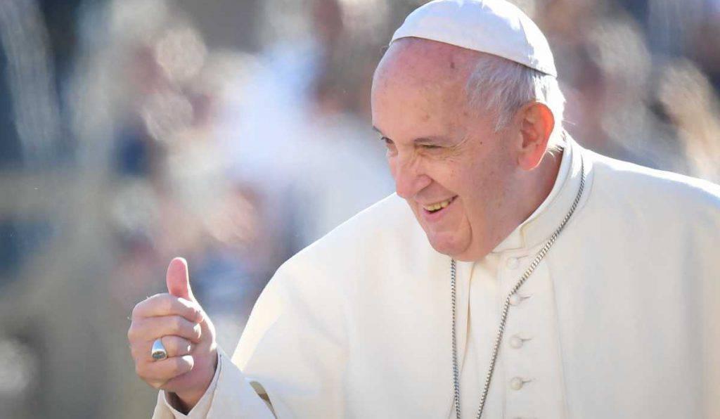 papa francesco serenita