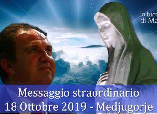 Medjugorje messaggio straordinario 18 ottobre