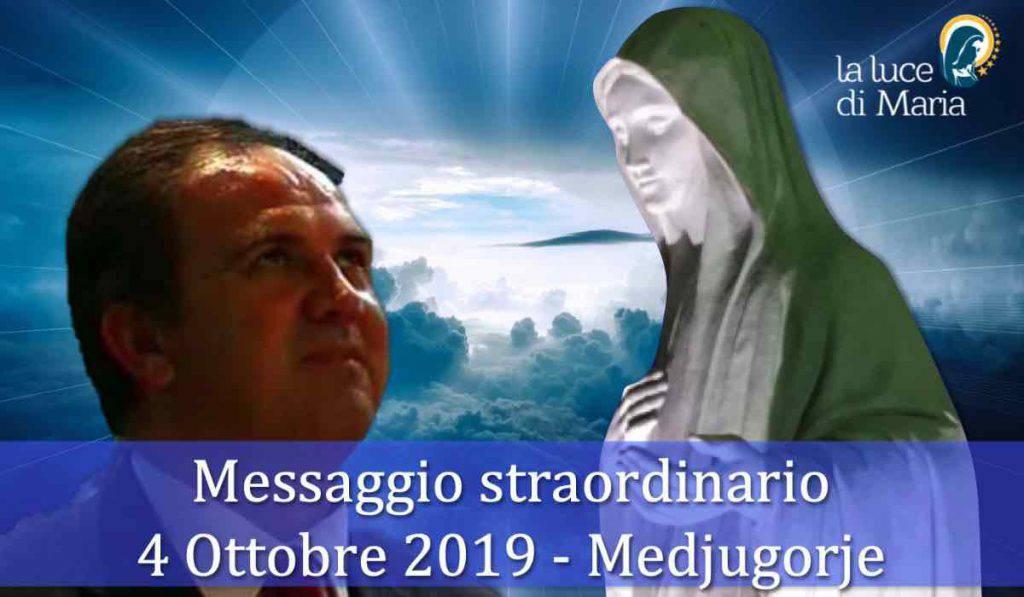 Medjugorje Messaggio Straordinario 4 Ottobre