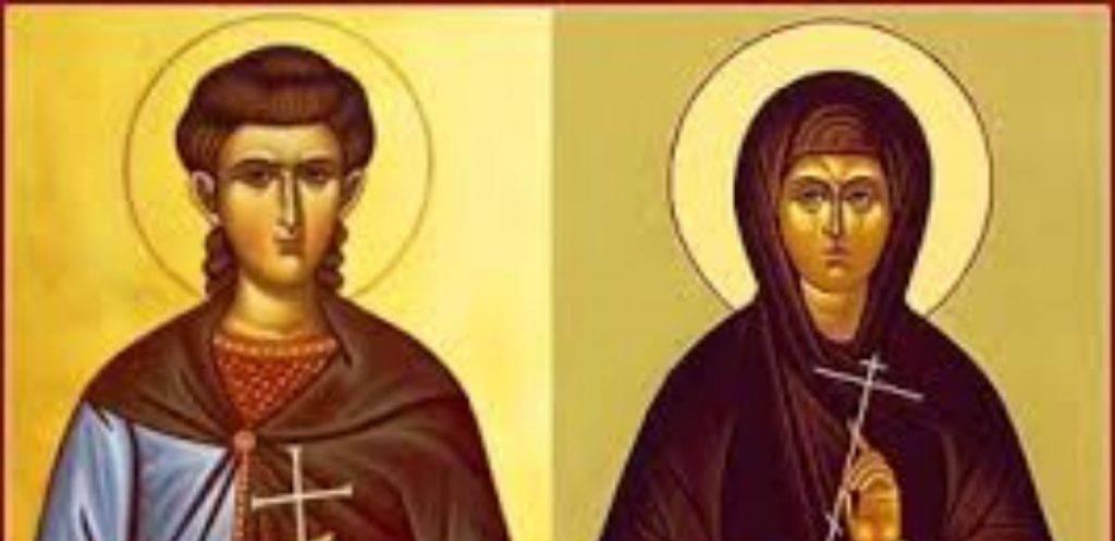 Santi Crisanto e Daria martiri