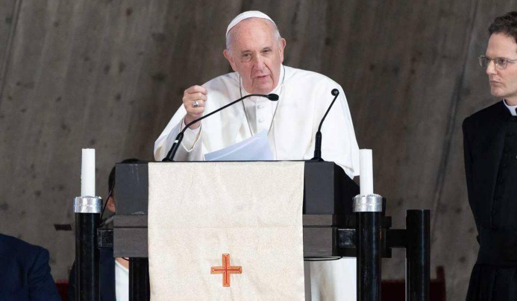 papa francesco morte meditazione