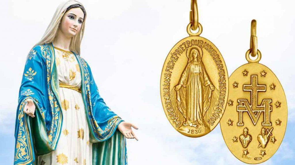 Medaglia Miracolosa Maria