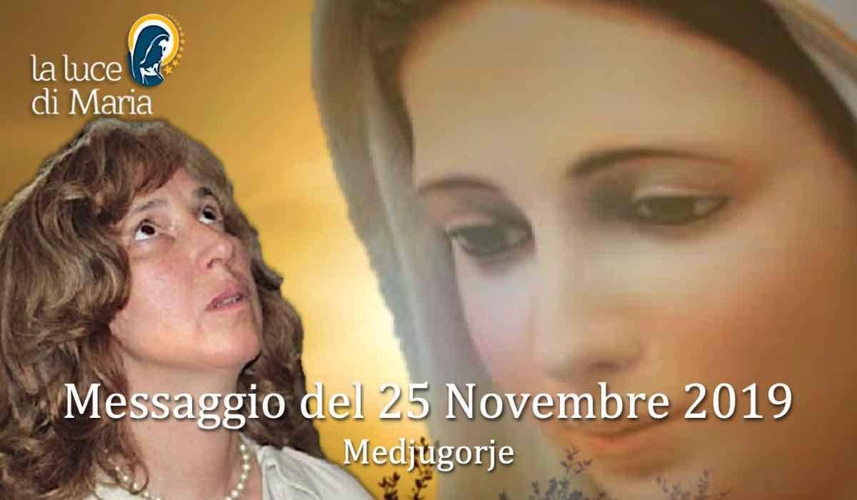"""Risultato immagini per Commento al messaggio della Regina della Pace de 25 Novembre 2019 a Marija"""""""