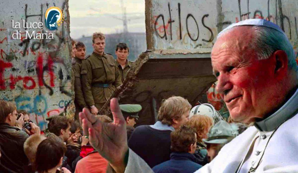 Muro di Berlino Giovanni Paolo II