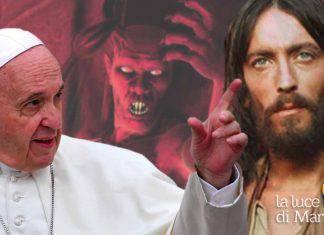 Papa Francesco Gesu demonio