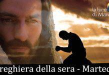 Preghiera della sera del martedi