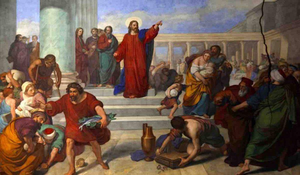 Vangelo Gesù scaccia mercanti