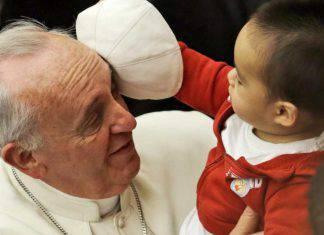 papa francesco bambini