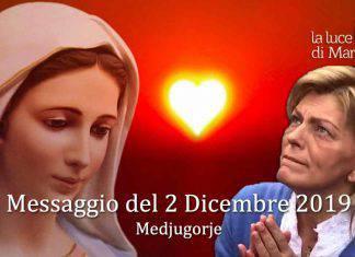 Medjugorje Messaggio 2 Dicembre