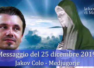 Medjugorje Messaggio 25 Dicembre Jokov