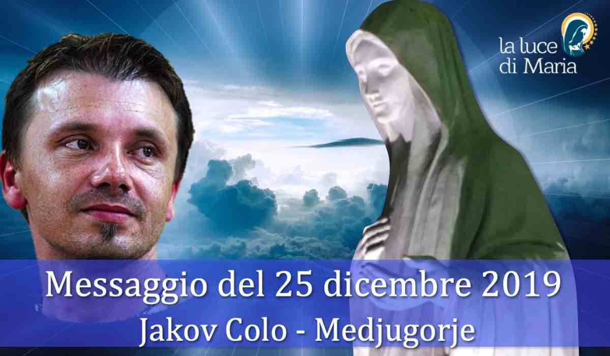 Medjugorje Message December 25 Jokov