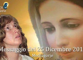 Medjugorje Messaggio 25 Dicembre 2019 Marija