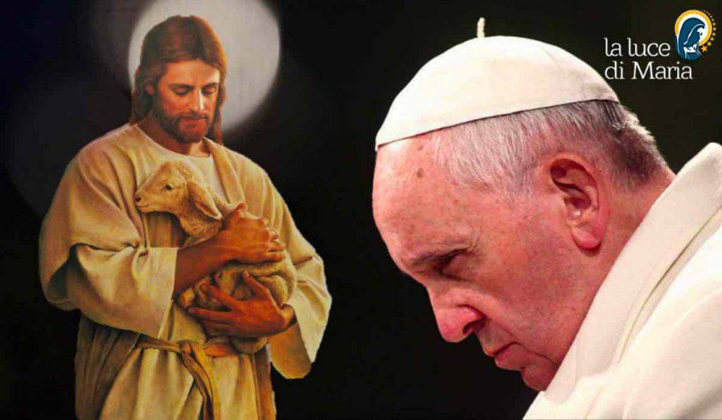 Le pape François Jésus