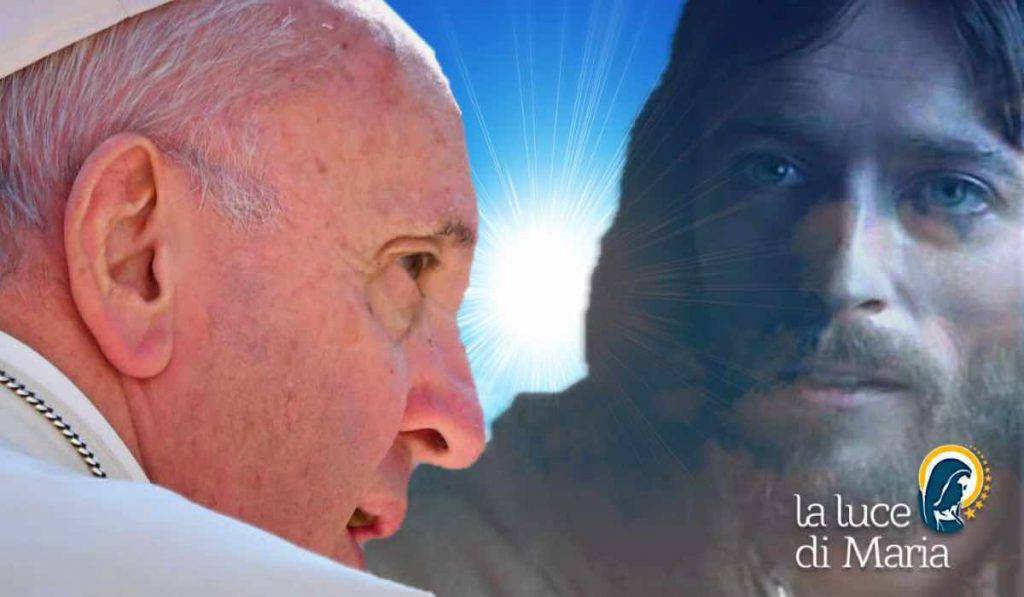 Papa Francesco preghiera Signore parla