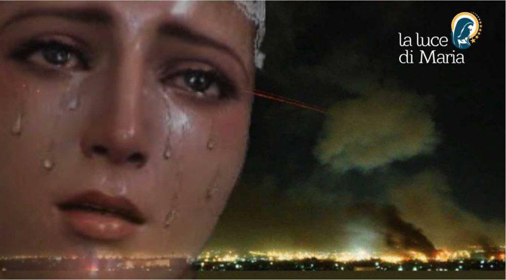 Madonna guerra Iran Usa attacco