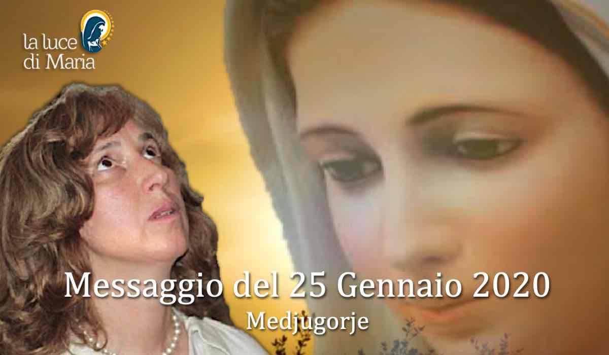 Risultati immagini per Commento al messaggio della Regina della Pace del 25 Gennaio 2020 a Marija