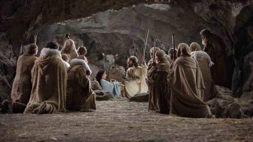 Vangelo - pastori grotta Betlemme