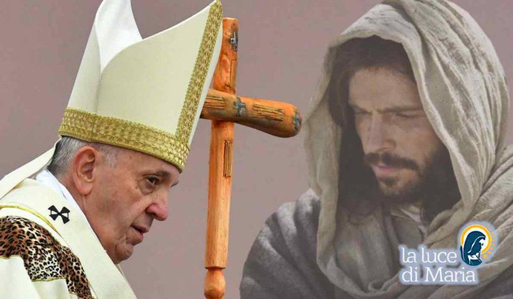 Papa Francesco essere cristiani veri